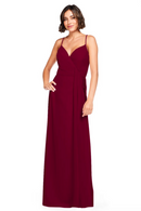 Bari Jay Bridesmaid Dress 2026 - Wine