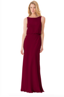 Bari Jay Bridesmaid Dress - 1661-Wine