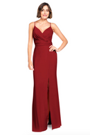 Bari Jay Bridesmaid Dress 2019 -Wine