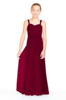 Bari Jay Junior Bridesmaid Dress 1803 (JR)-Wine