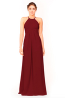 Bari Jay Bridesmaid Dress 1950 -Wine