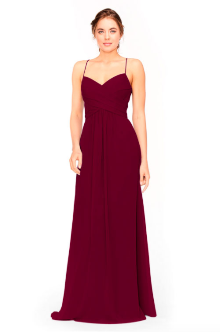 Bari Jay Bridesmaid Dress 1962 -Wine