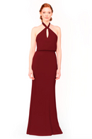 Bari Jay Bridesmaid Dress 1954 - Wine