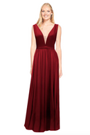 Bari Jay Bridesmaid Dress 2034 - Wine
