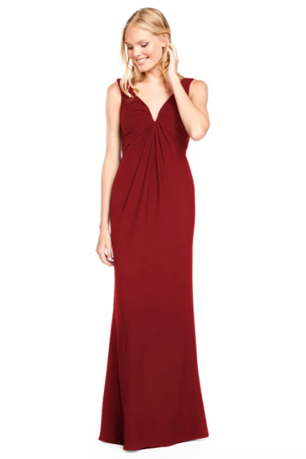 Bari Jay Bridesmaid Dress 2011 -Wine