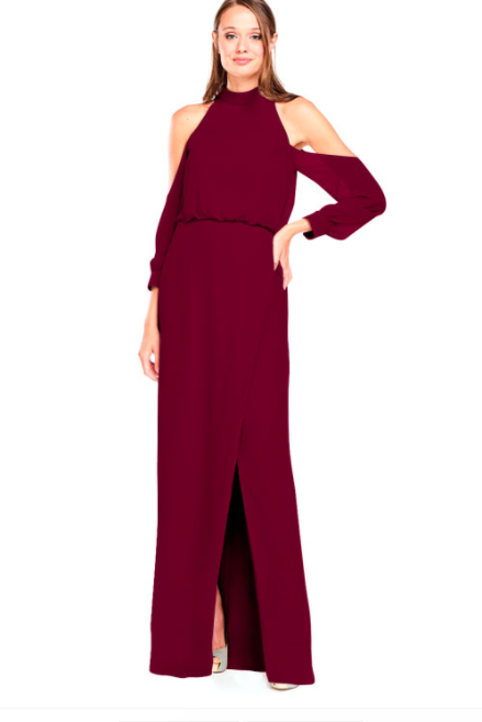 Bari Jay Bridesmaid Dress 2028 - Wine