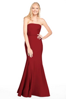 Bari Jay Bridesmaid Dress 2015 -Wine
