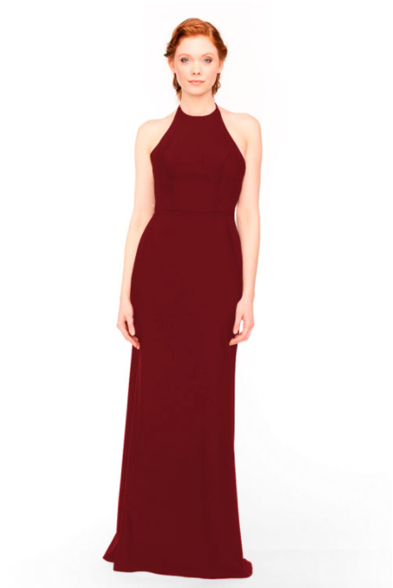 Bari Jay Bridesmaid Dress 1961 - Wine