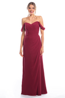 Bari Jay Bridesmaid Dress 2080 - Wine
