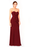 Bari Jay Bridesmaid Dress 1955 - Wine