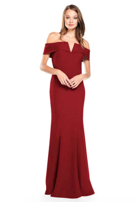 Bari Jay Bridesmaid Dress 2014 -Wine