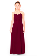 Bari Jay Junior Bridesmaid Dress 1962 - Wine