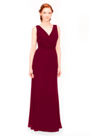 Bari Jay Bridesmaid Dress 1970 -Wine