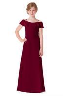 Bari Jay Junior Bridesmaid Dress - 1730(JR)-Wine