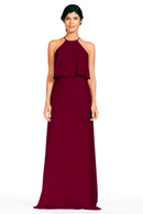 Bari Jay Bridesmaid Dress 1801-Wine
