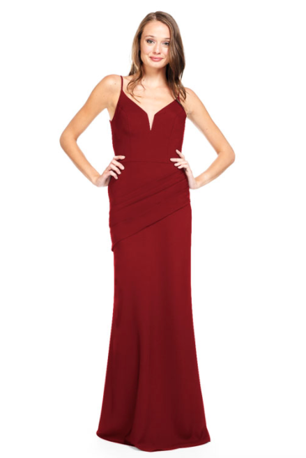 Bari Jay Bridesmaid Dress 2012 - Wine