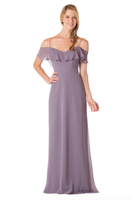 Bari Jay Bridesmaid Dress - 1730-Wisteria