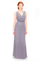 Bari Jay Bridesmaid Dress 1970 -Wisteria