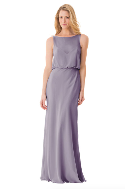 Bari Jay Bridesmaid Dress - 1661-Wisteria