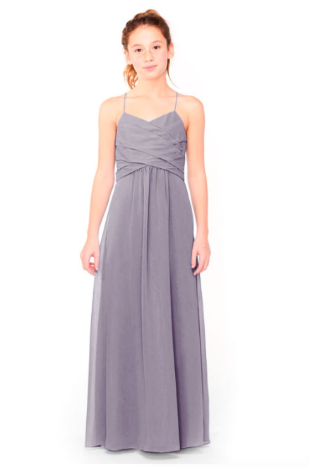 Bari Jay Junior Bridesmaid Dress 1962 - Wisteria