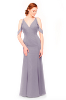 Bari Jay Bridesmaid Dress 1972 - Wisteria