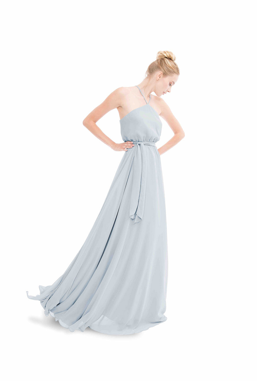 Joanna August Long Bridesmaid Dress Allison