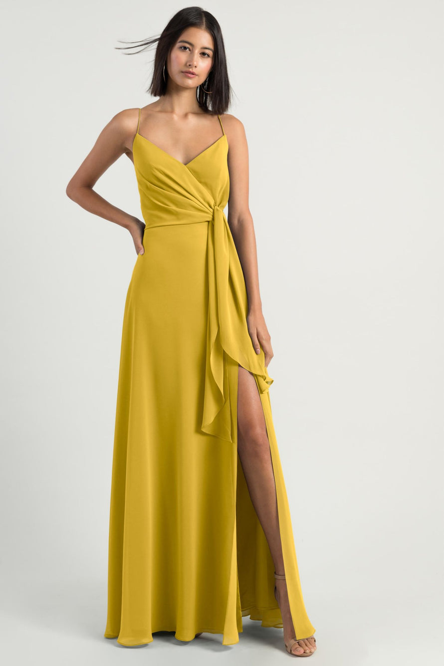 Jenny Yoo Long Bridesmaid Dress Amara