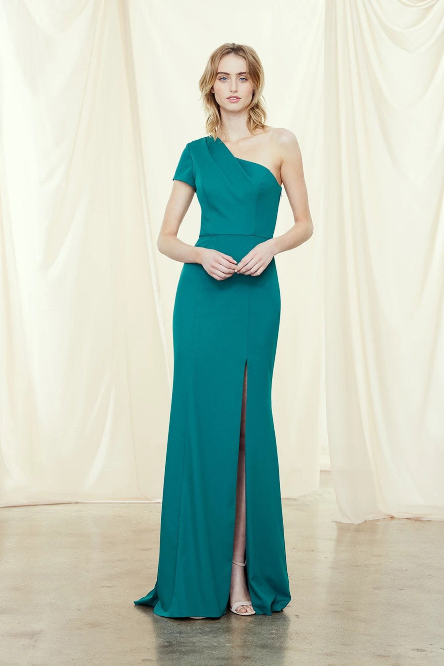 Amsale Long Bridesmaid Dress Nadia