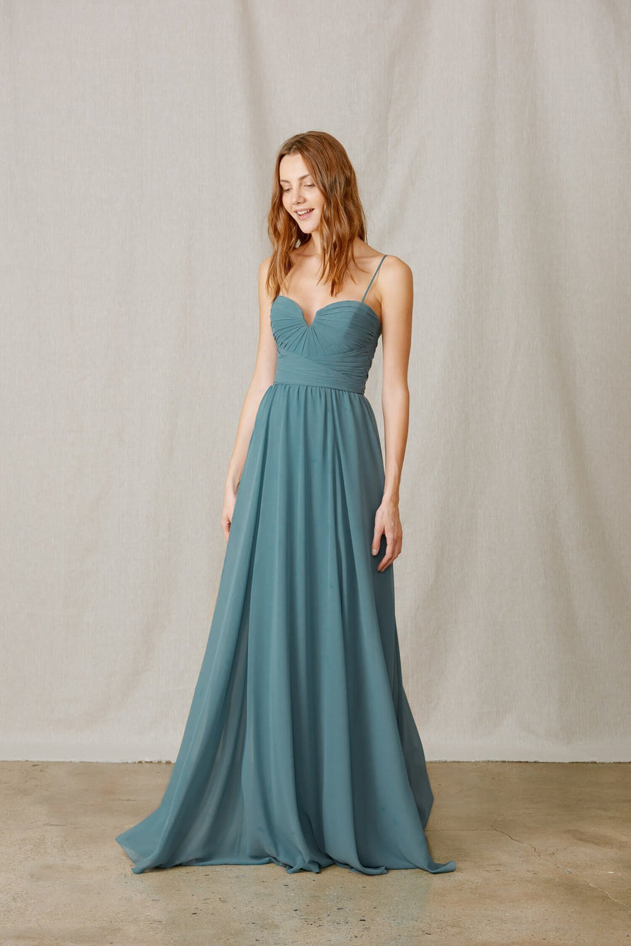 Amsale Long Bridesmaid Dress Bella