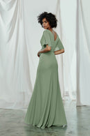 Amsale Long Bridesmaid Dress Ava