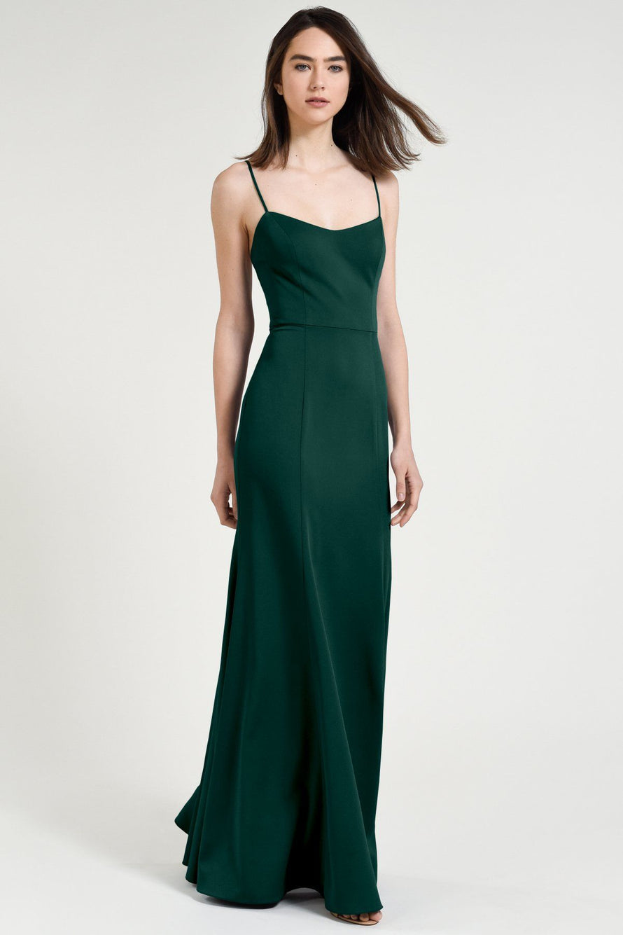 Jenny Yoo Bridesmaid Dress Aniston emerald