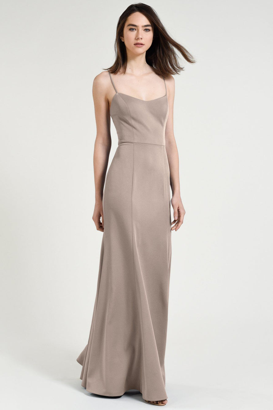 Jenny Yoo Bridesmaid Dress Aniston pebble