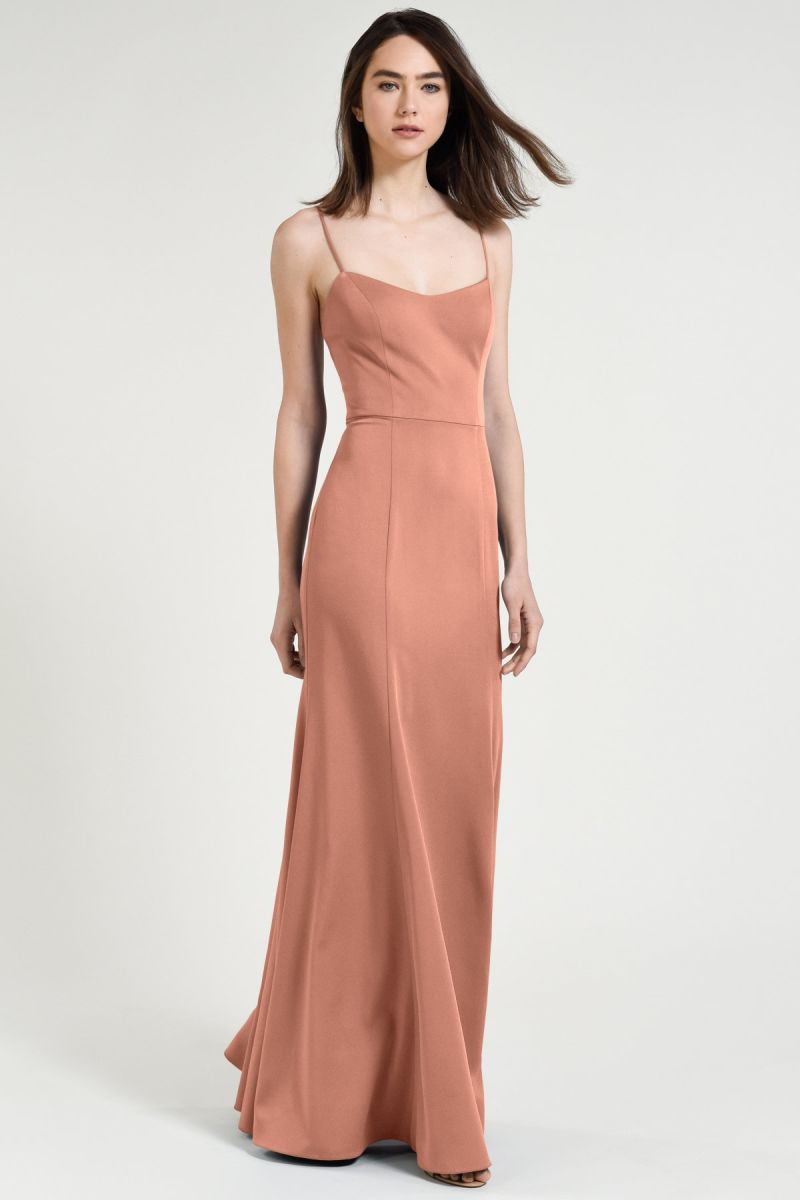 Jenny Yoo Bridesmaid Dress Aniston front