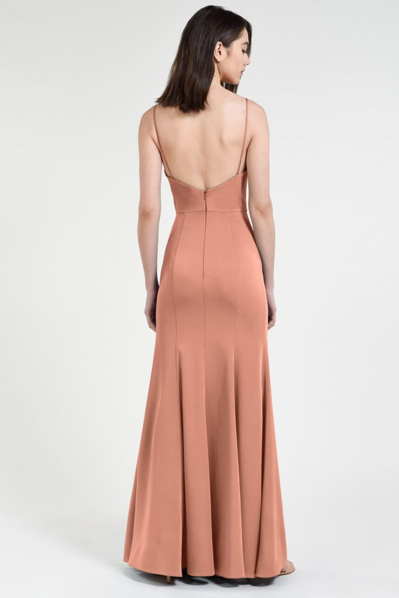 Jenny Yoo Bridesmaid Dress Aniston back