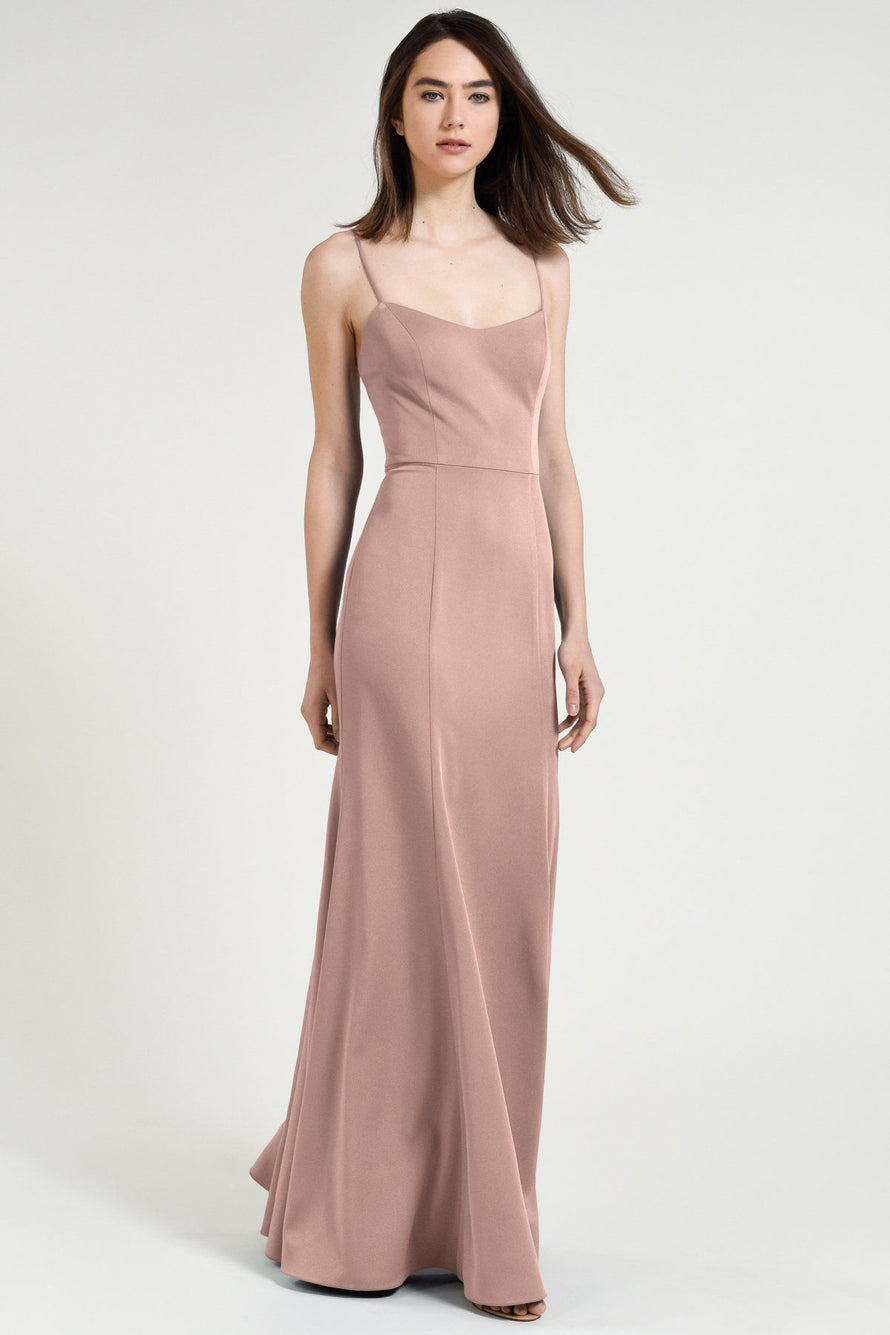 Jenny Yoo Bridesmaid Dress Aniston whipped_apricot