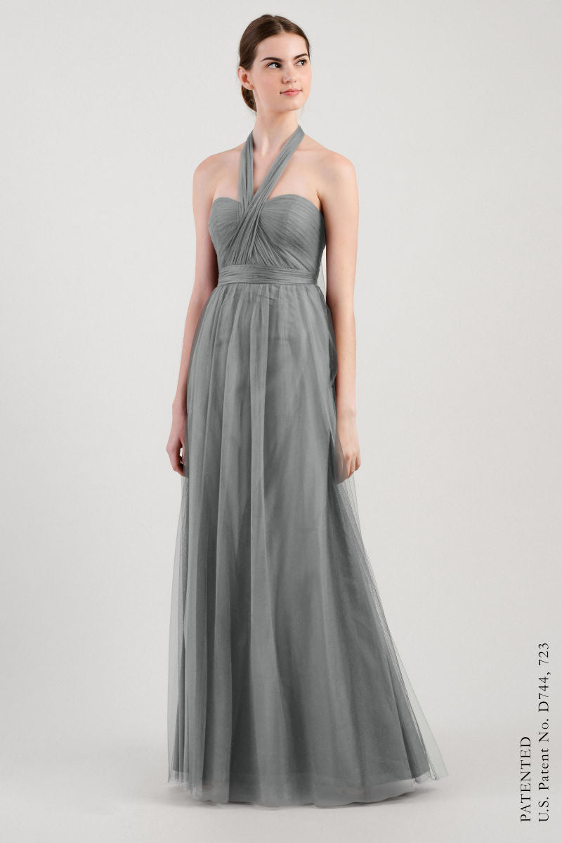 Sterling Grey-Jenny Yoo Convertible Bridesmaid Dress Annabelle