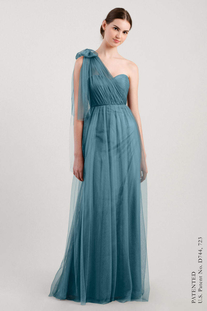 Vintage Teal-Jenny Yoo Convertible Bridesmaid Dress Annabelle