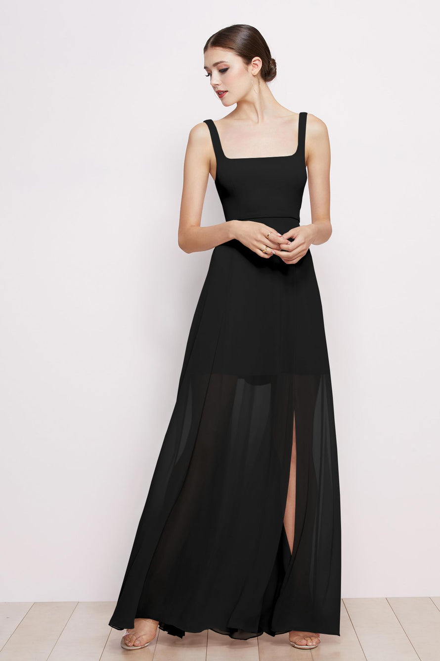 Watters Dress Aubrey black