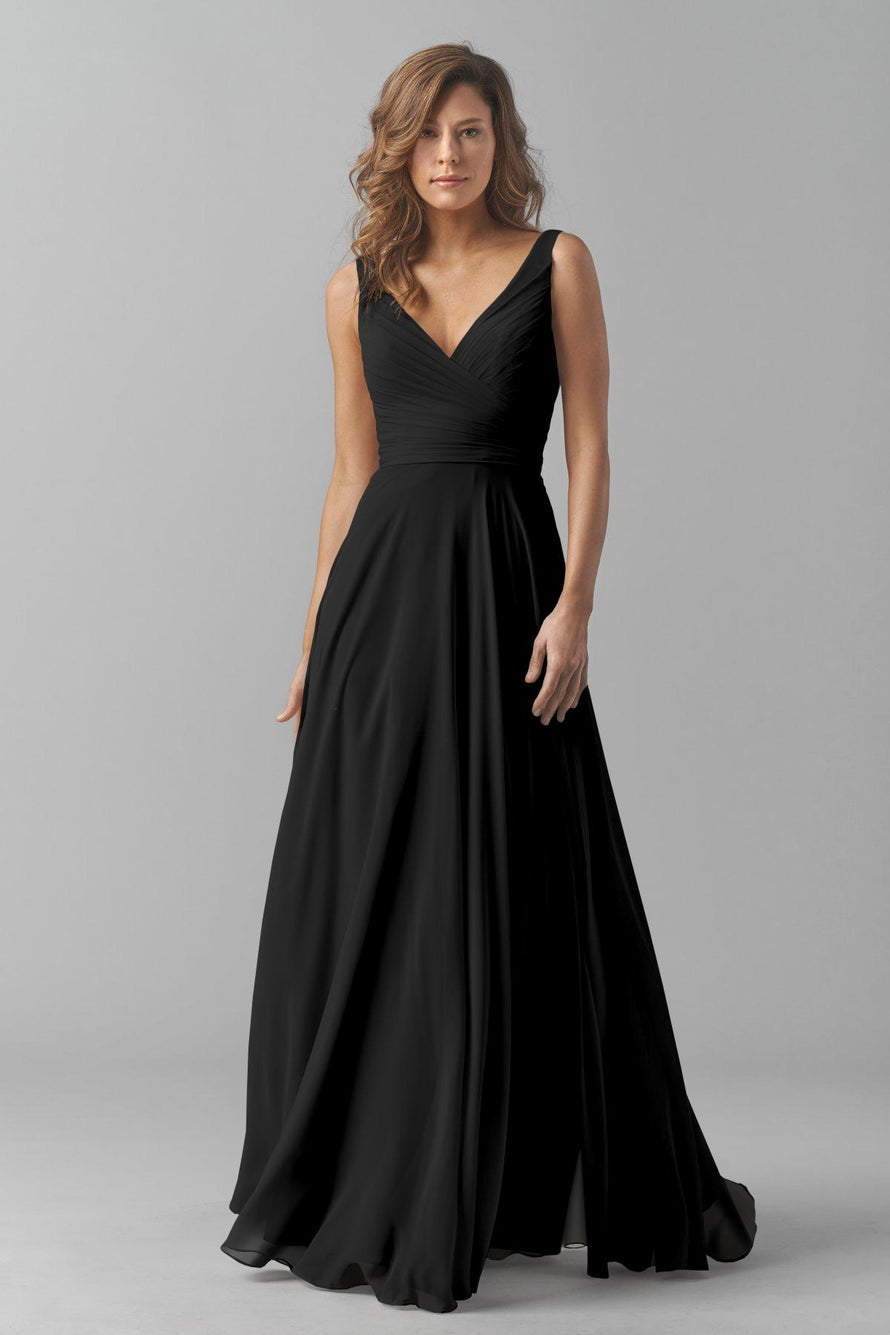 Watters Bridesmaid Dress Karen Black