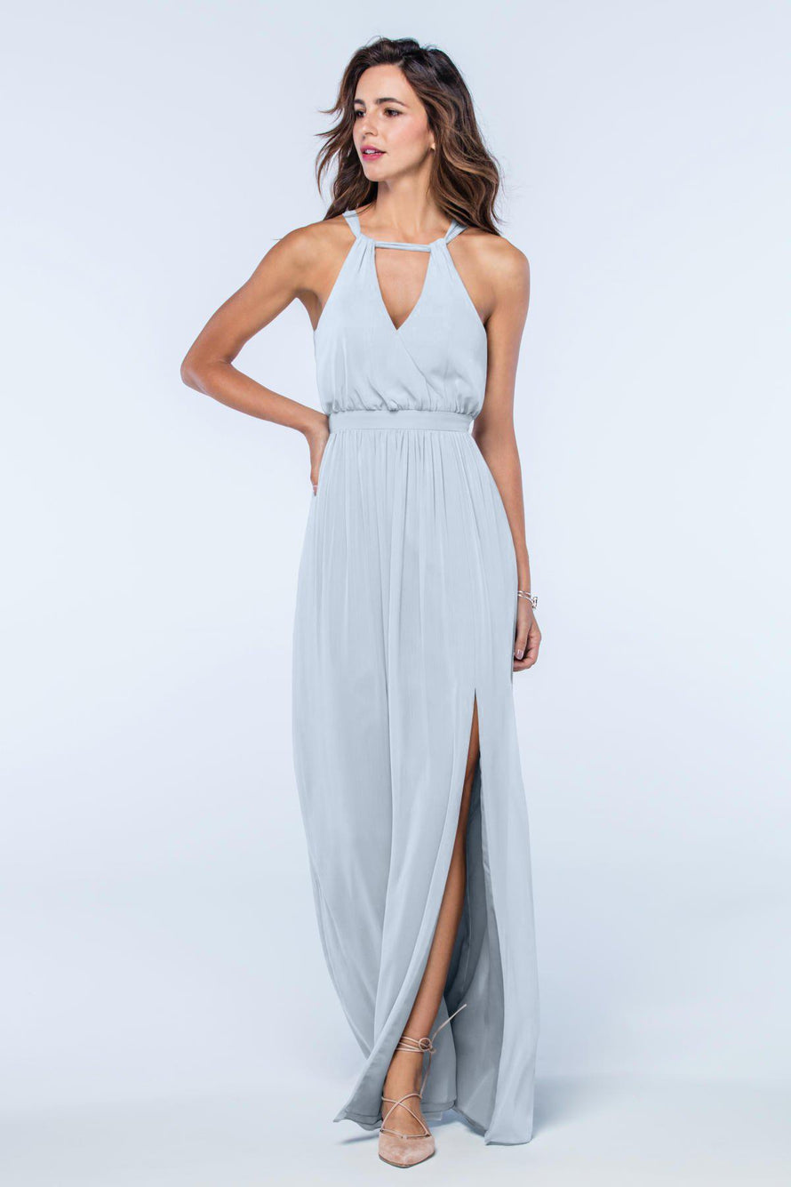 Watters Dress Fleurette blue_harbor