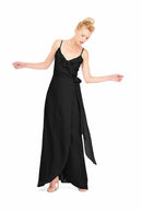 Joanna August Long Bridesmaid Dress Brianna Black