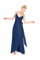 Joanna August Long Bridesmaid Dress Brianna Navy Blue