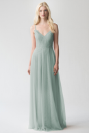 morning_mist_Jenny Yoo Long Bridesmaid Dress Brielle Appliqué