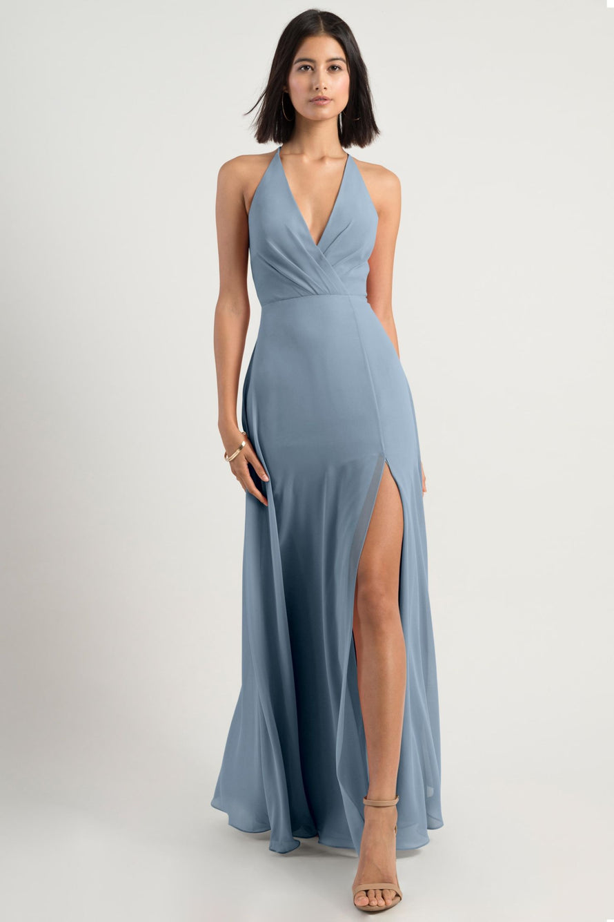 Jenny Yoo Bridesmaid Dress bryce_blue_bell