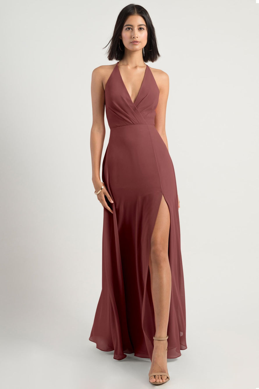 Jenny Yoo Bridesmaid Dress bryce_cinnamon_rose