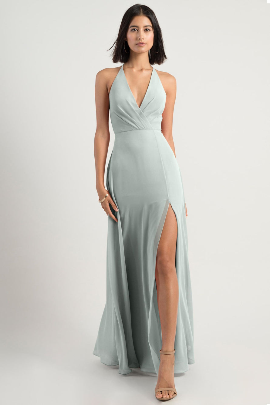 Jenny Yoo Bridesmaid Dress bryce_morning_mist