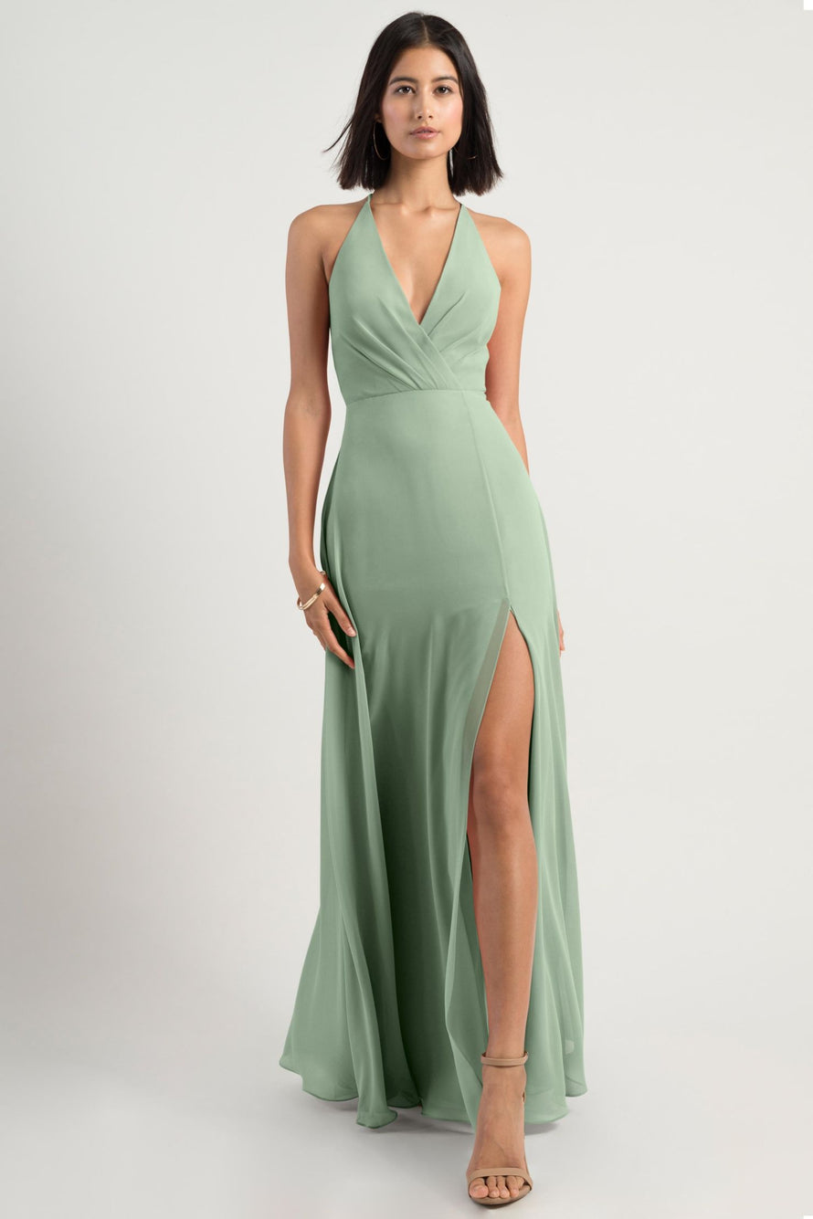 Jenny Yoo Bridesmaid Dress bryce_sea_glass