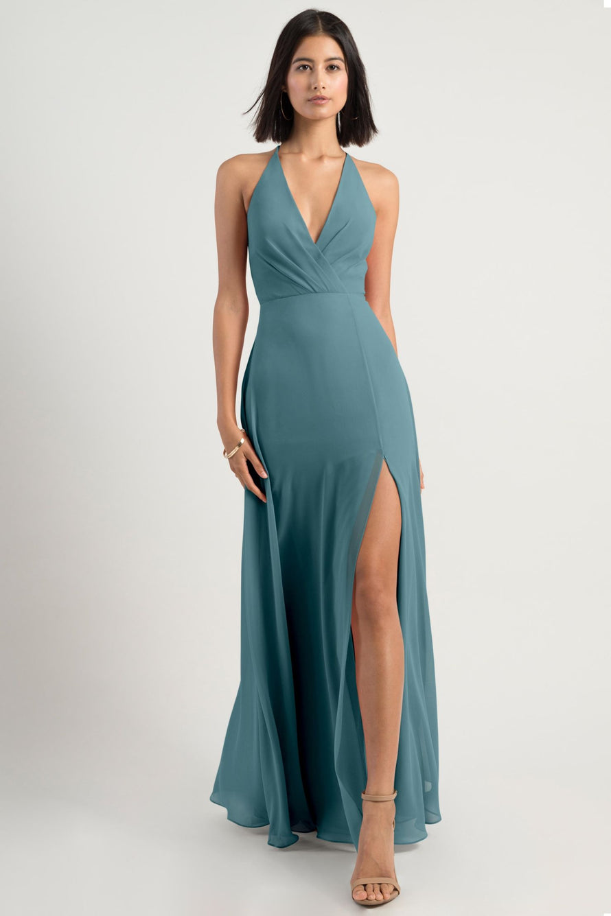Jenny Yoo Bridesmaid Dress bryce_turkish_blue