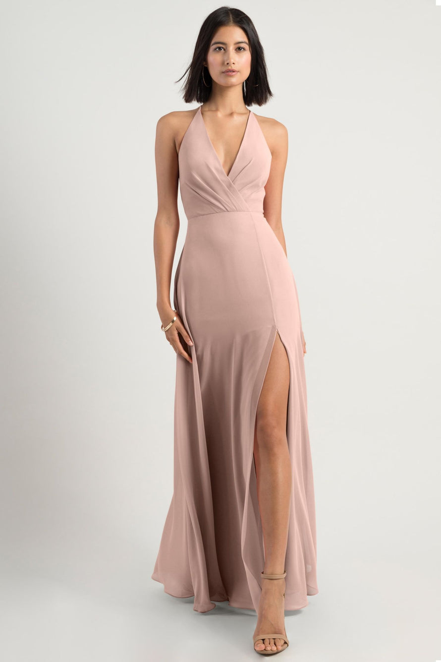 Jenny Yoo Bridesmaid Dress bryce_whipped_apricot