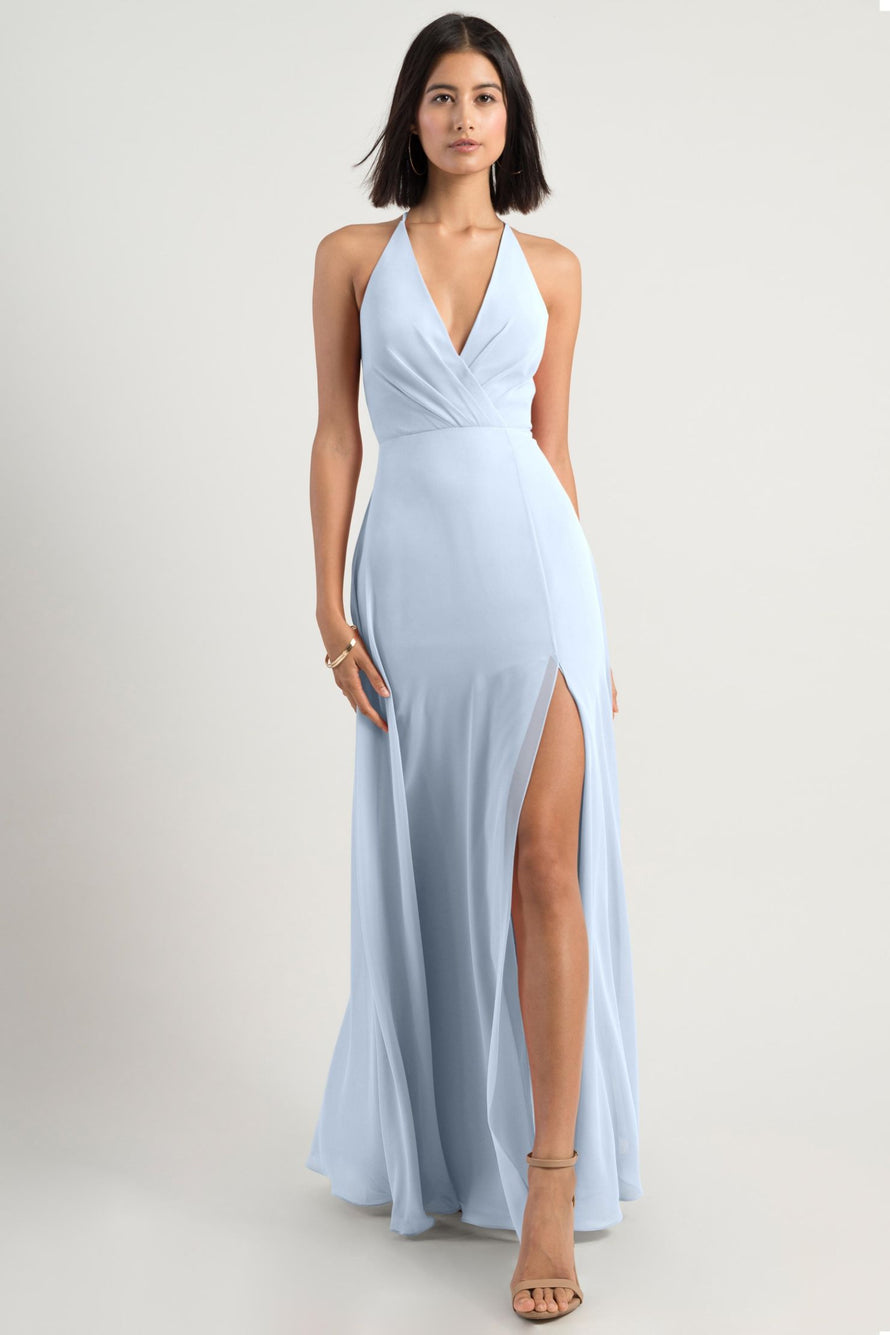 Jenny Yoo Bridesmaid Dress bryce_whisper_blue